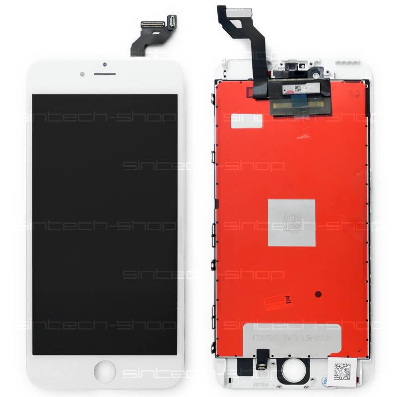 "iPhone 6S Plus (5,5"") LCD displej s rámem a dotykem, bílý"