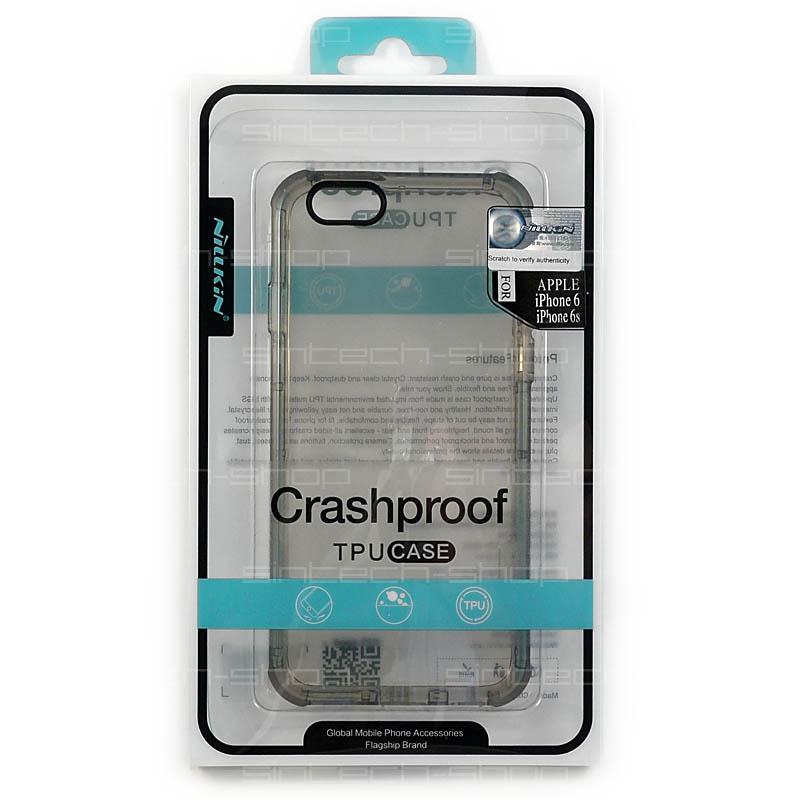 """Nillkin CrashProof pouzdro pro iPhone 6/6S (4.7"""") šedé"""