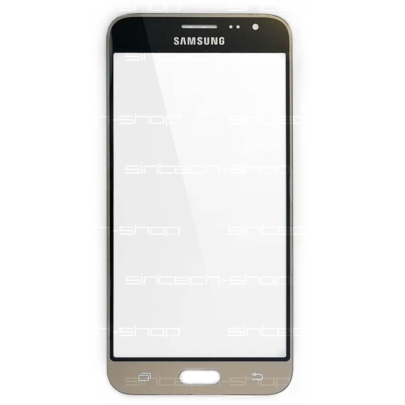 Samsung Galaxy J3 2016 (J320F) čelní dotykové sklo, zlaté