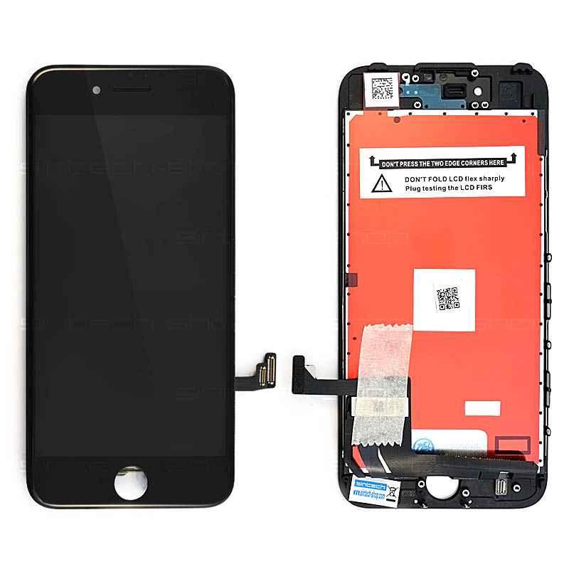 """iPhone 7 (4,7"""") LCD displej s rámem a dotykem, černý"""