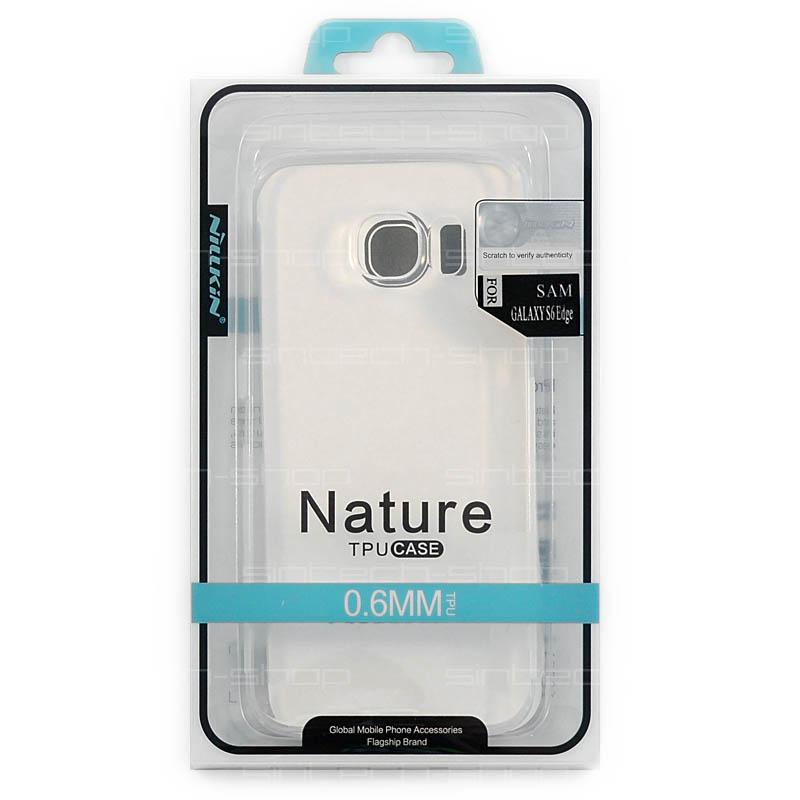 Nillkin Nature TPU pouzdro pro Samsung G925 Galaxy S6 Edge průhledné