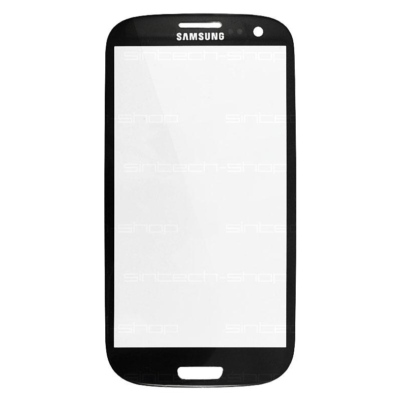 Samsung Galaxy S3 sklo dotykové, čelní, černé i9300/i9301