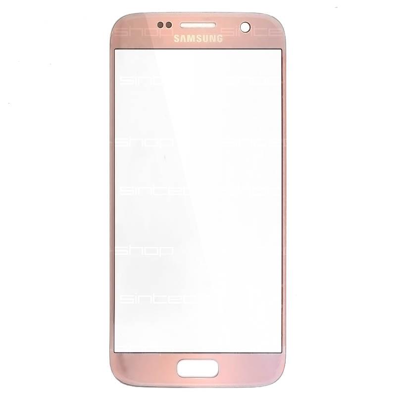 Samsung Galaxy S7 G930F růžové čelní dotykové sklo, ORIGINÁL