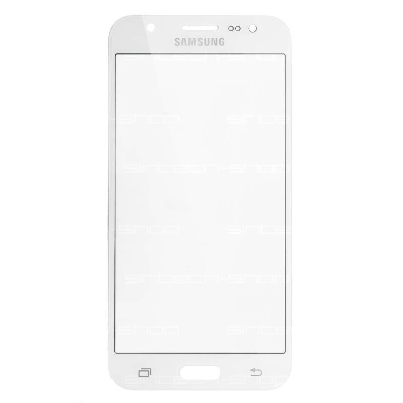 Samsung Galaxy J5 2015 (J500) čelní dotykové sklo, bílé