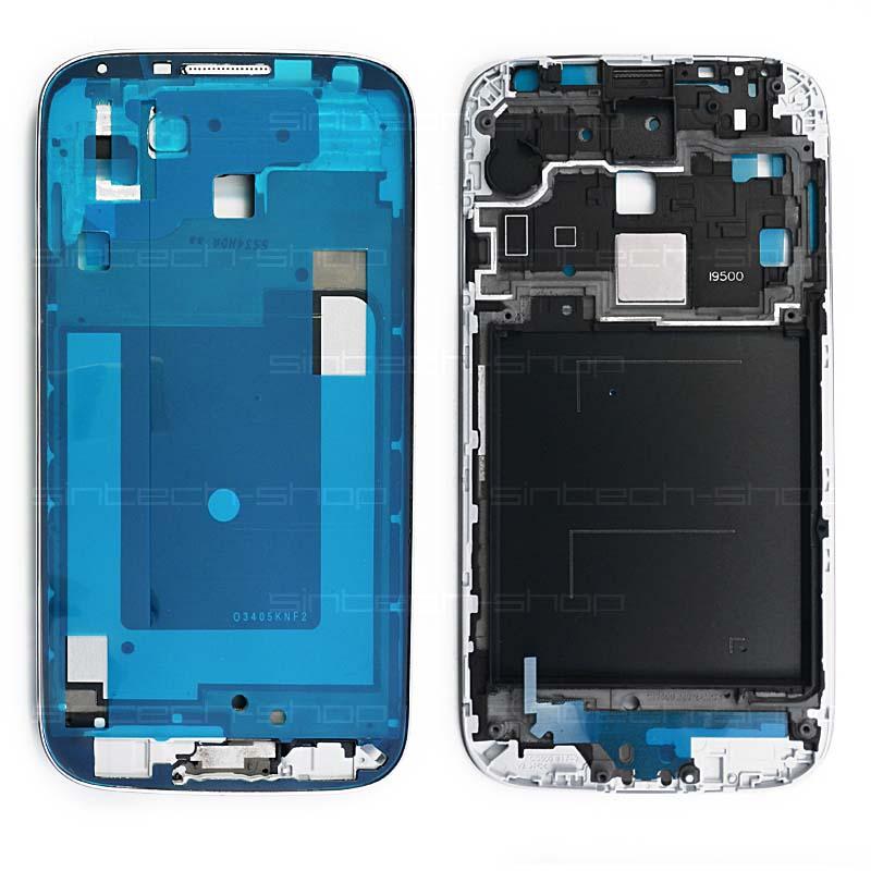 Samsung Galaxy S4 i9500/i9505 přední rám, stříbrný Typ: i9500