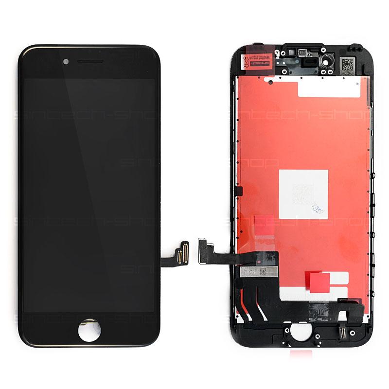"iPhone 7 (4,7"") LCD displej s rámem a dotykem, černý, ORIGINAL"