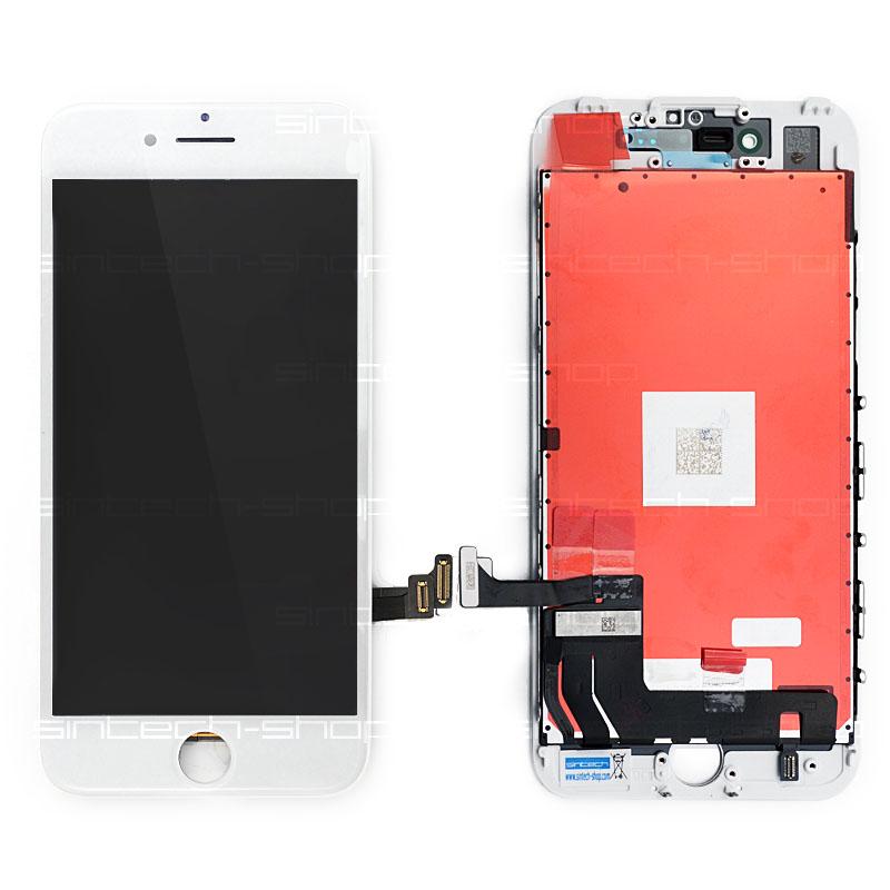 "iPhone 7 (4,7"") LCD displej s rámem a dotykem, bílý, ORIGINAL"