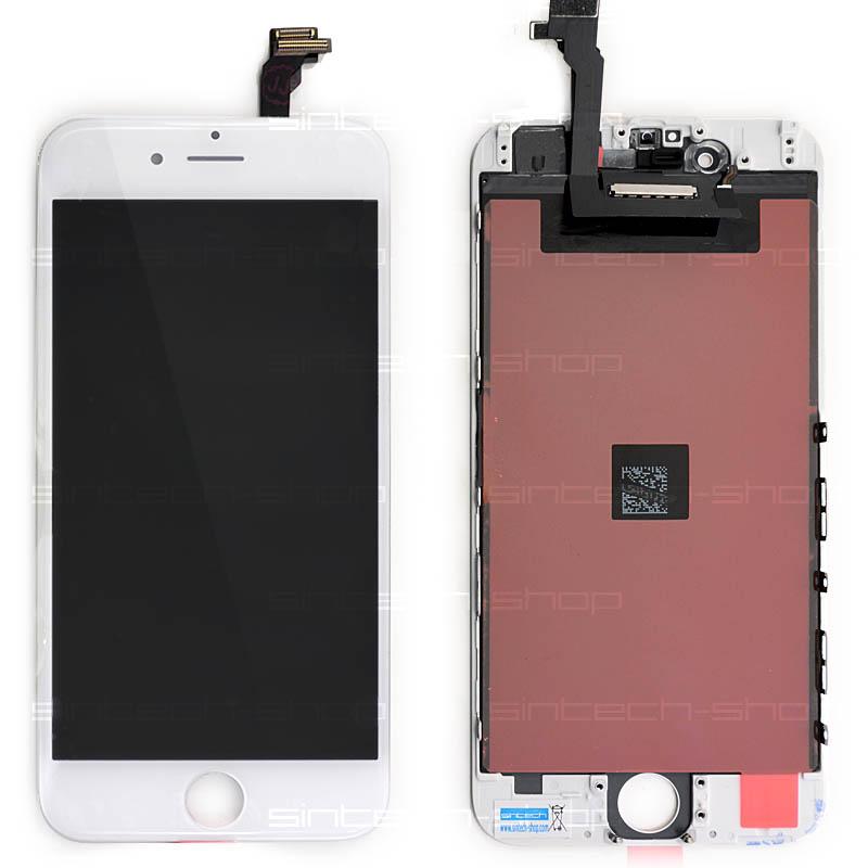 "iPhone 6 (4,7"") LCD displej s rámem a dotykem, bílý, ORIGINAL"