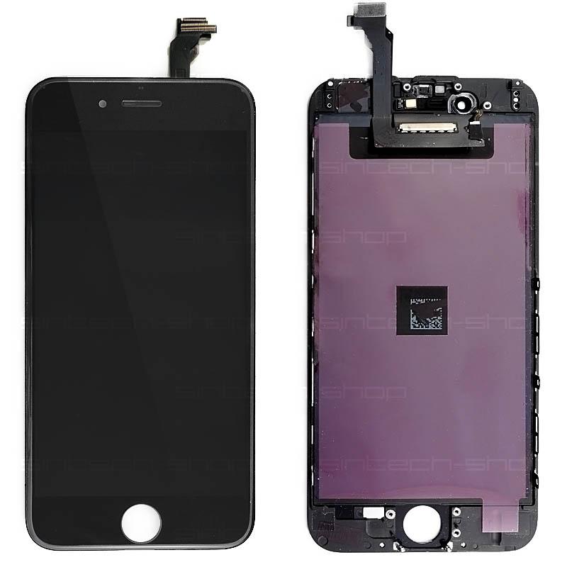 "iPhone 6 (4,7"") LCD displej s rámem a dotykem, černý, ORIGINAL"