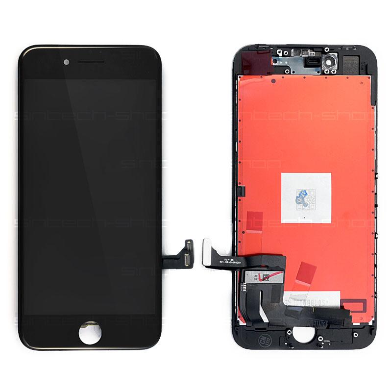 """iPhone 8 (4,7"""") LCD displej s rámem a dotykem, černý"""
