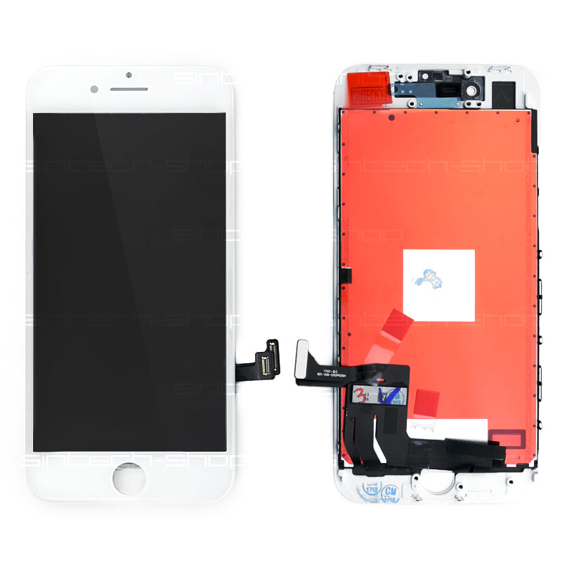 "iPhone 8 (4,7"") LCD displej s rámem a dotykem, bílý"