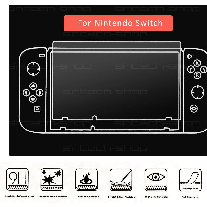 Ochranné tvrzené sklo 9H pro Nintendo Switch ovladač