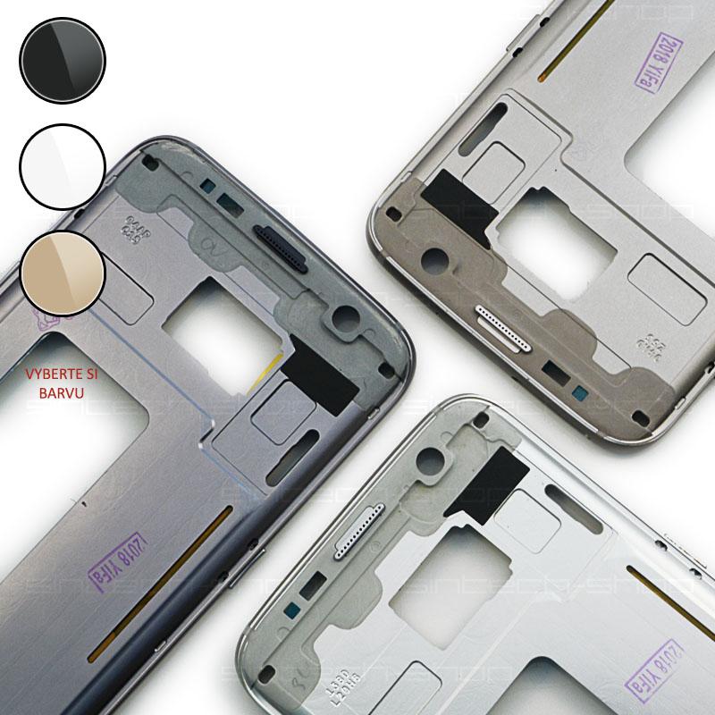 Samsung Galaxy S7 Edge G935F středový rám Barevná varianta: Stříbrná