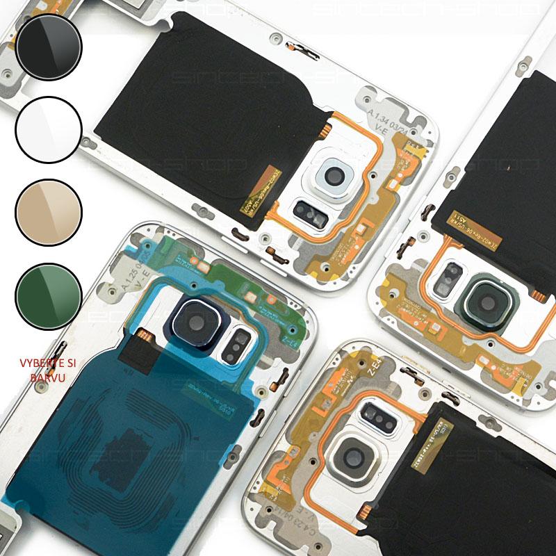 Samsung Galaxy S6 Edge G925F středový rám Barevná varianta: Bílá