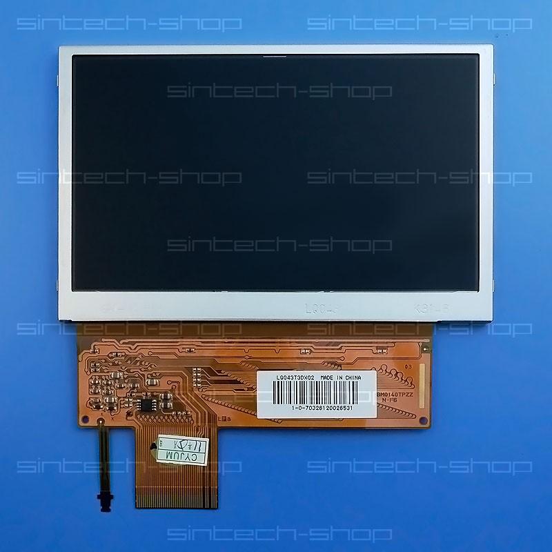 PSP 1000-1004 LCD displej včetně podsvícení