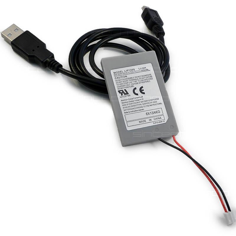 Baterie do PS3 ovladače s USB kabelem