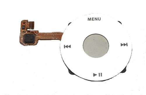 iPod Classic klikací kolečko - bílé
