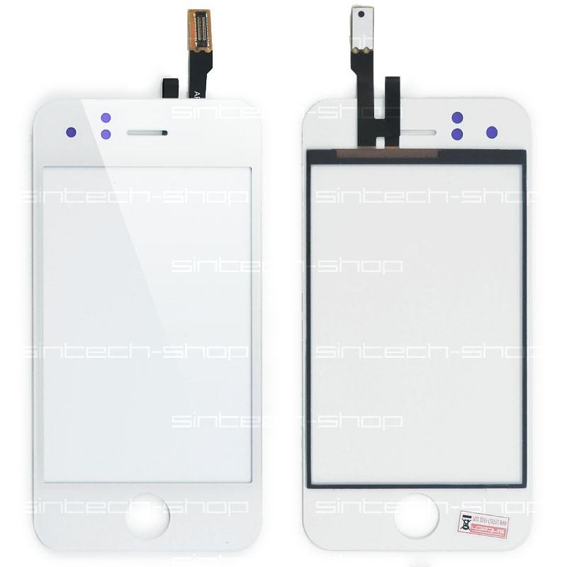 iPhone 3GS digitizer bílý (čelní sklo s dotykem)