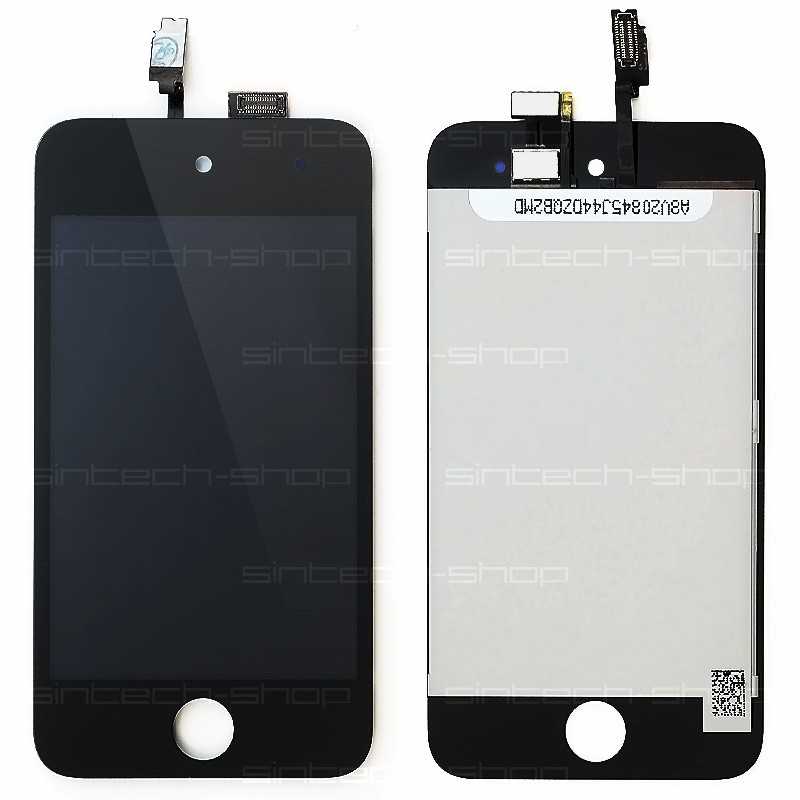 iPod Touch 4G Display komplet (sklo, LCD, Touchscreen) - černý