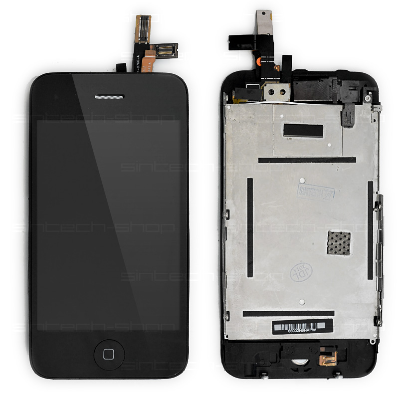 iPhone 3GS LCD kompletní díl včetně dotykové vrstvy a čelního skla