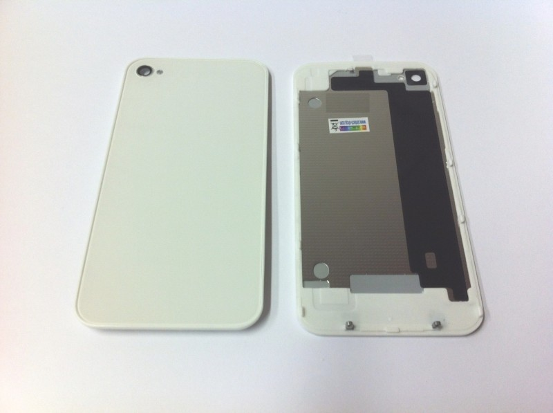 iPhone 4S zadní kryt - bílý