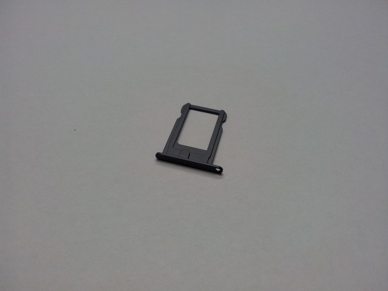 iPhone 5 Nano Sim držák černý