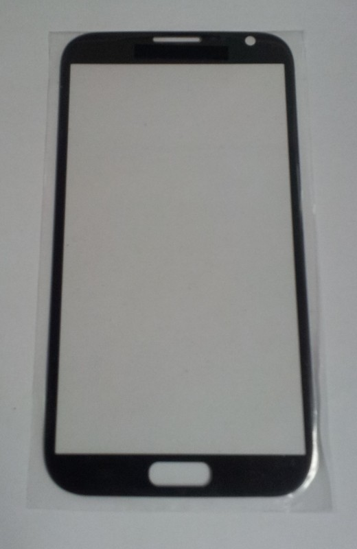 Samsung Galaxy Note 2 N7100 čelní sklo titanium grey
