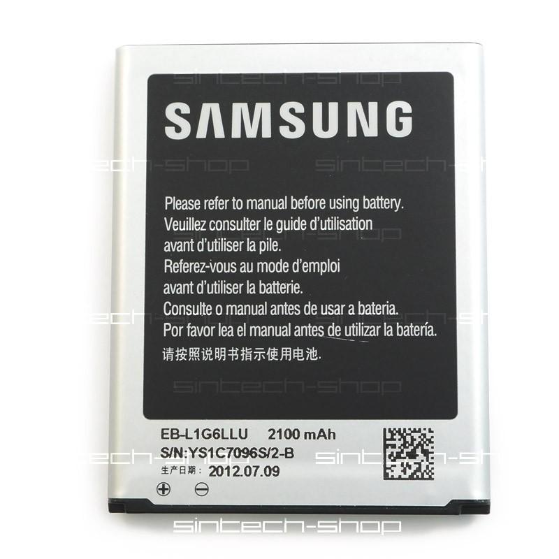 Samsung Galaxy S3 (i9300) baterie EB-L1G ORIGINAL