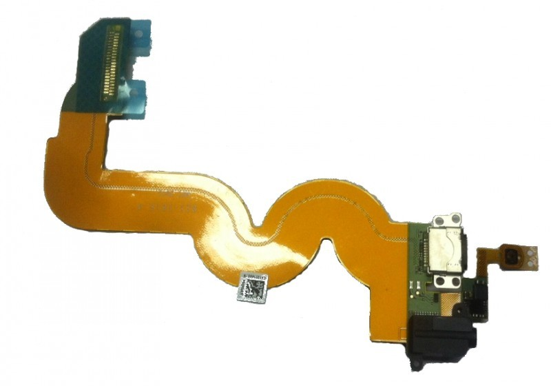 iPod Touch 5G Docking Port / Charging Port flex kabel s konektorem sluchátek