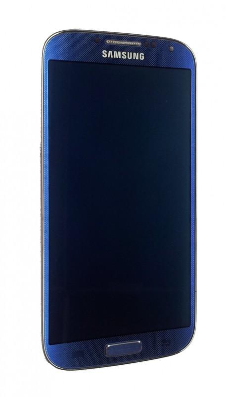 Samsung I9505 LTE Galaxy S4, modrý - displej s rámem