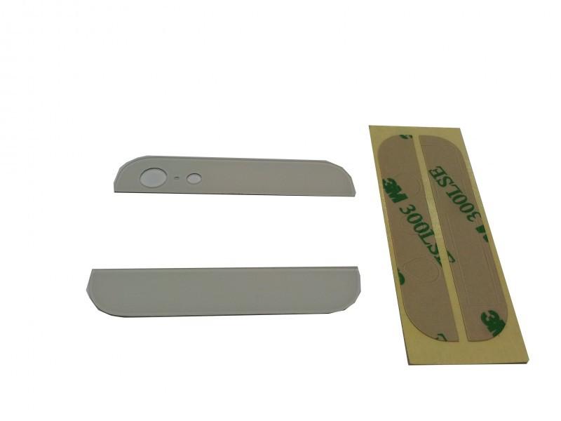 Zadní skleněné kryty na iPhone 5 - bílé