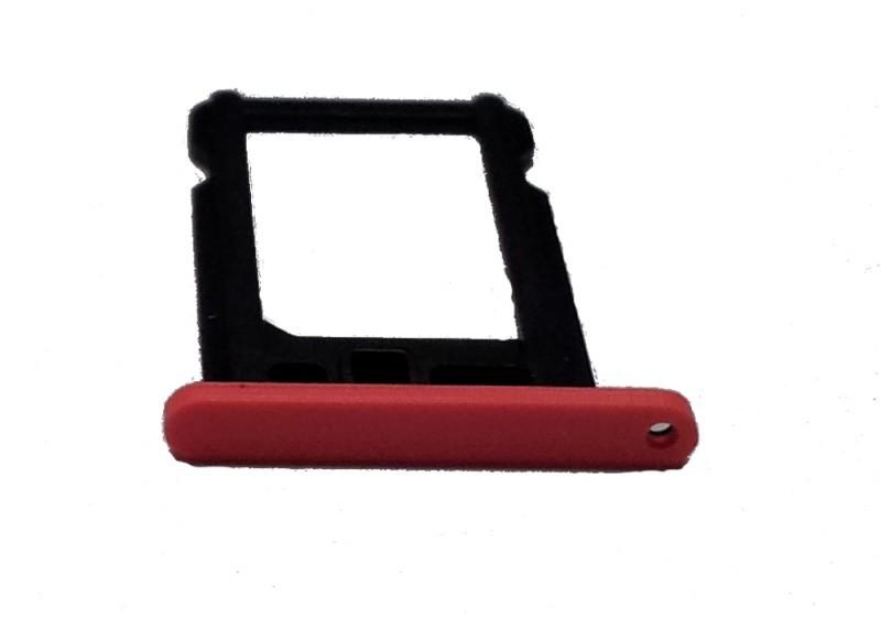 iPhone 5C držák nano SIM karty, červený