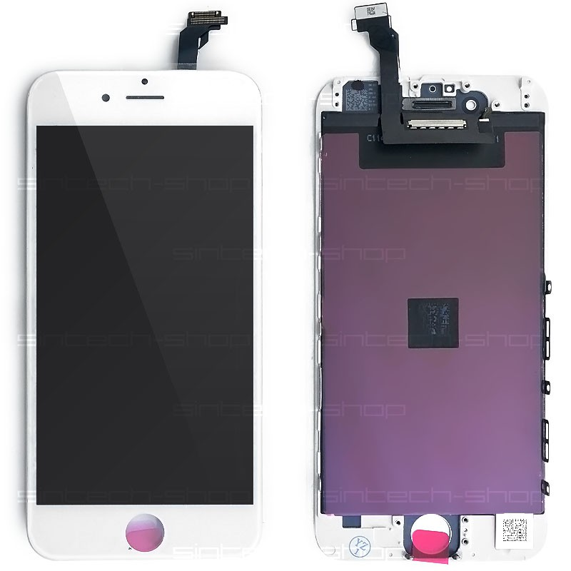 "iPhone 6 (4,7"") SINTECH© Premium LCD displej s rámem a dotykem, bílý"