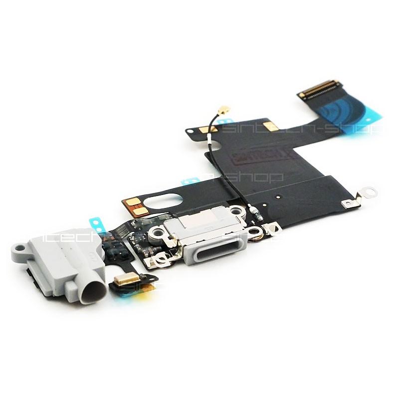 iPhone 6 docking port se sluchátkovým jackem a mikrofonem, bílý