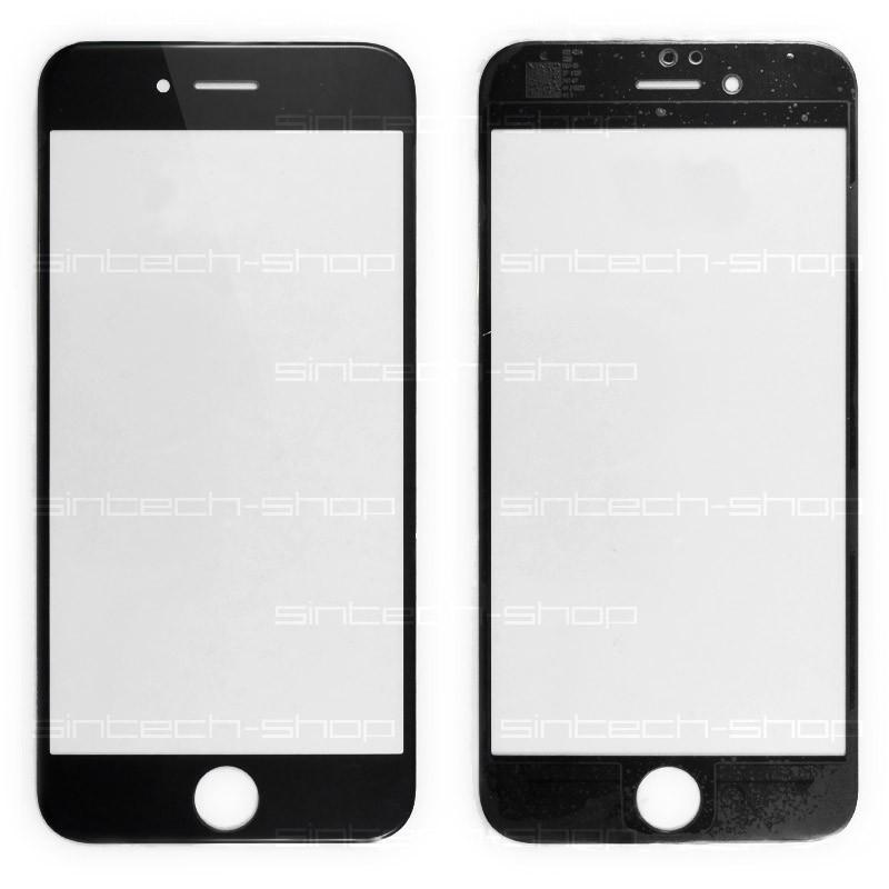 """iPhone 6/6S (4,7"""") čelní sklo, černé"""