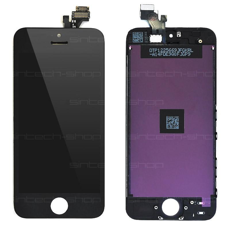 iPhone 5 čelní díl s LCD - černý