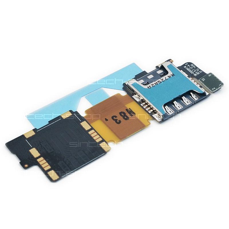 Samsung Galaxy S5 G900F slot SD a SIM karty
