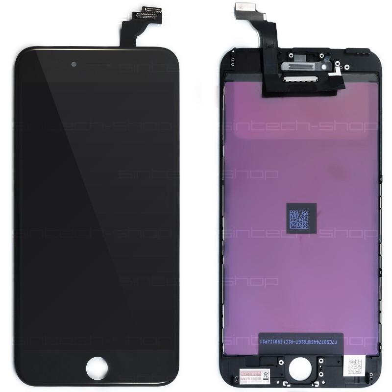 "iPhone 6 Plus (5,5"") SINTECH© Premium LCD displej s rámem a dotykem, černý"