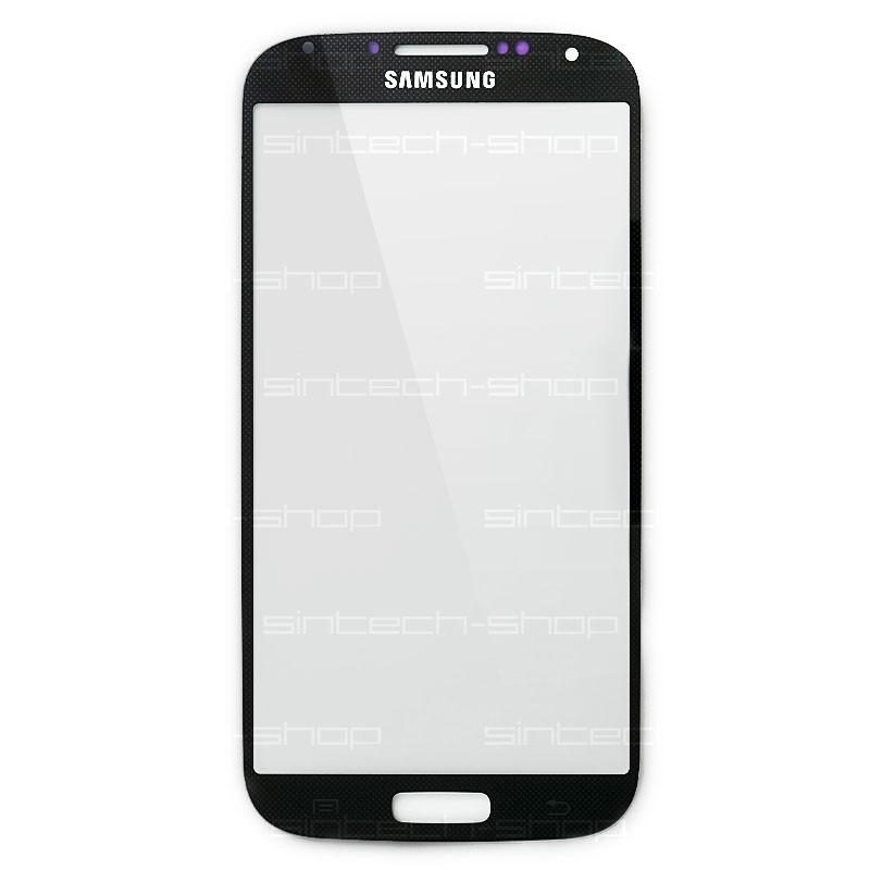 Samsung Galaxy S4 sklo dotykové, čelní, černé (real BLACK) i9500/i9505