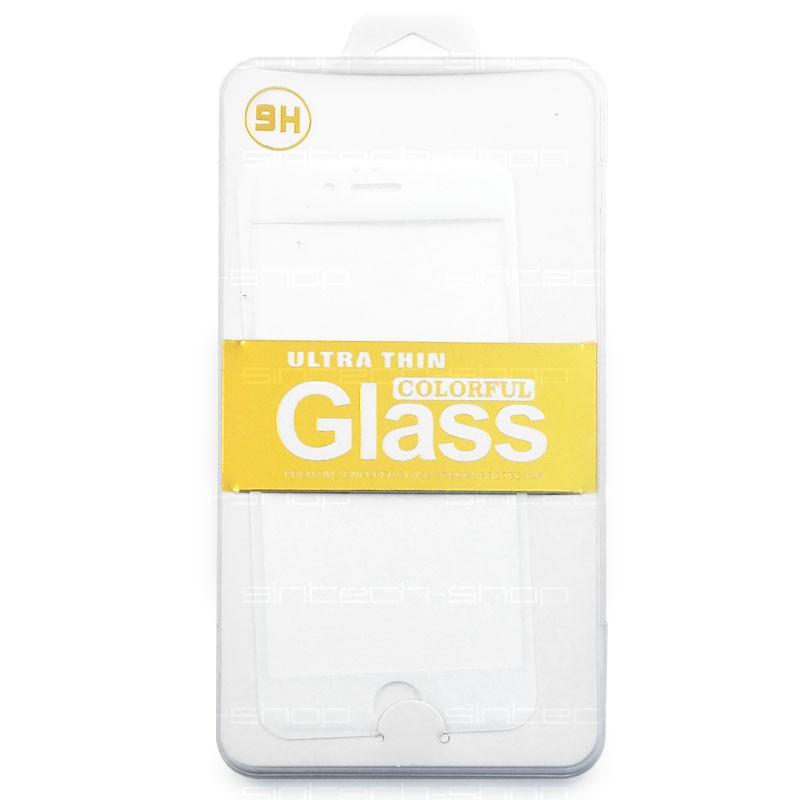 iPhone 6/6S/7 ochranné tvrzené sklo, bílé, SINTECH© Premium
