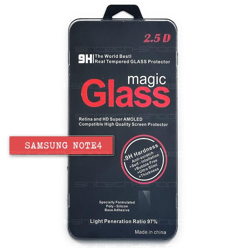 Samsung Galaxy Note 4 ochranné tvrzené sklo 9H