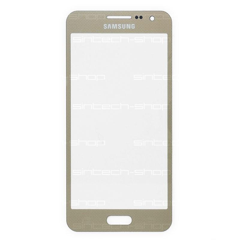 Samsung Galaxy A3 (A300F) čelní dotykové sklo, zlaté (Champagne gold)