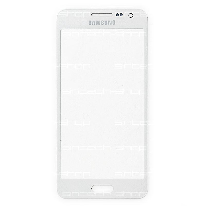 Samsung Galaxy A3 (A300F) čelní dotykové sklo, bílé (Platinium Pearl white)
