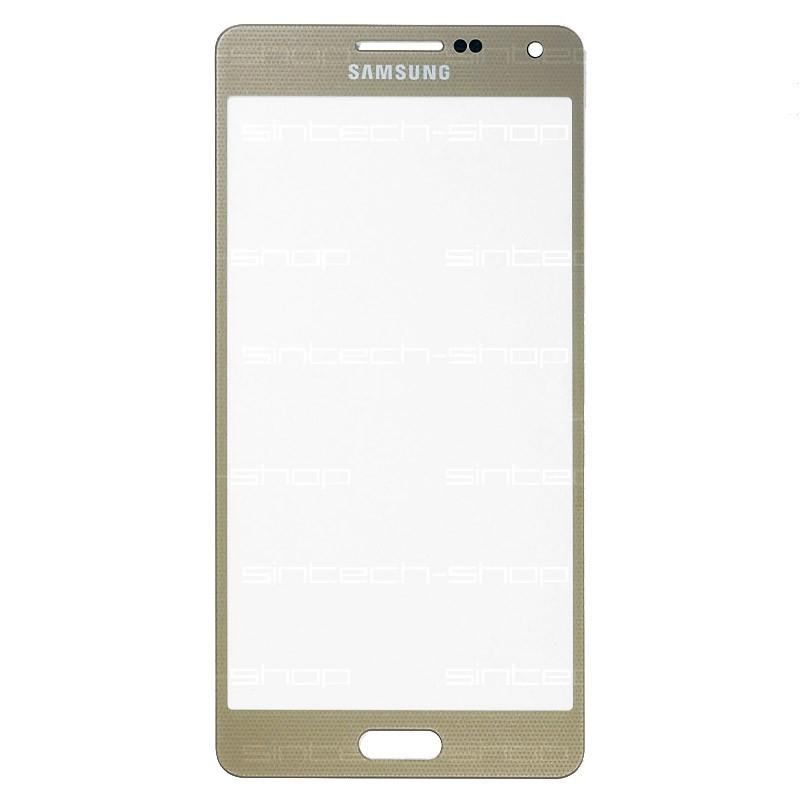 Samsung Galaxy A5 (A500F) čelní dotykové sklo, zlaté (Champagne gold)