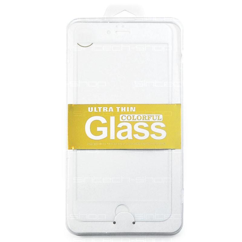 iPhone 6/6S/7 Plus ochranné tvrzené sklo, bílé, SINTECH© Premium