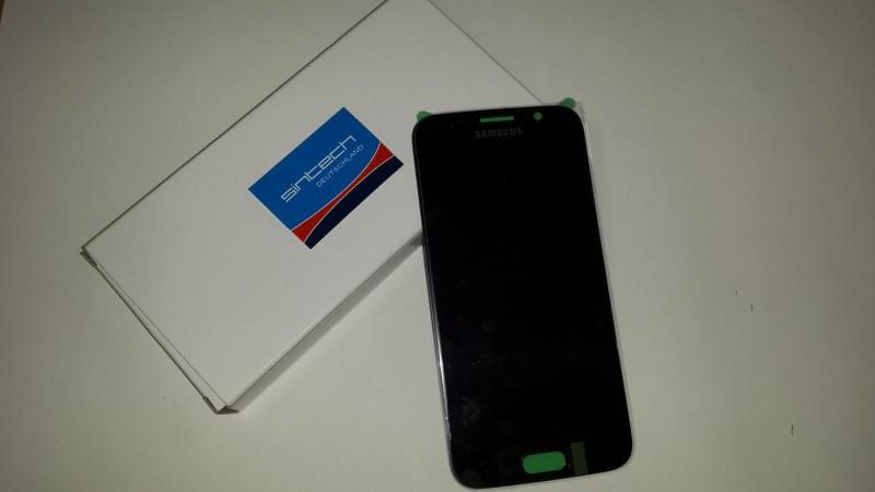 Samsung Galaxy S6 SM G920F display s rámem, černý