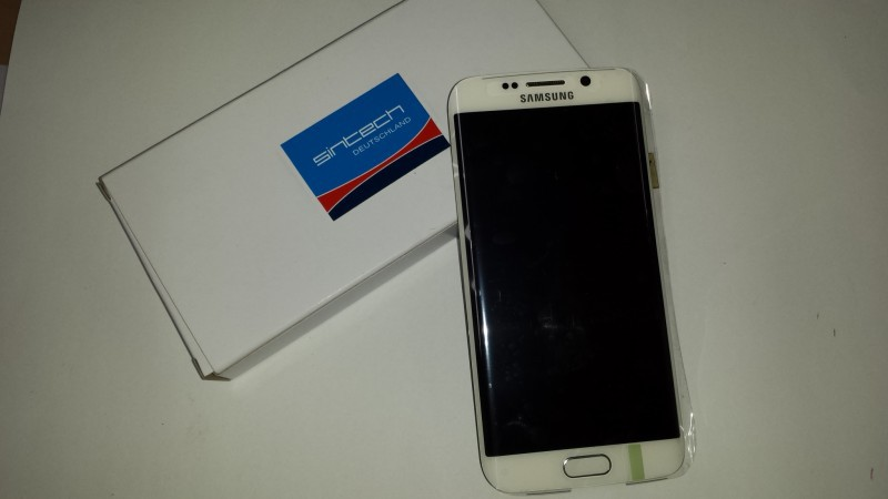 Samsung Galaxy S6 SM G925F display s rámem, bílý