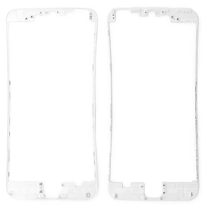 """iPhone 6 PLUS (5,5"""") bílý - čelní rámeček skla"""