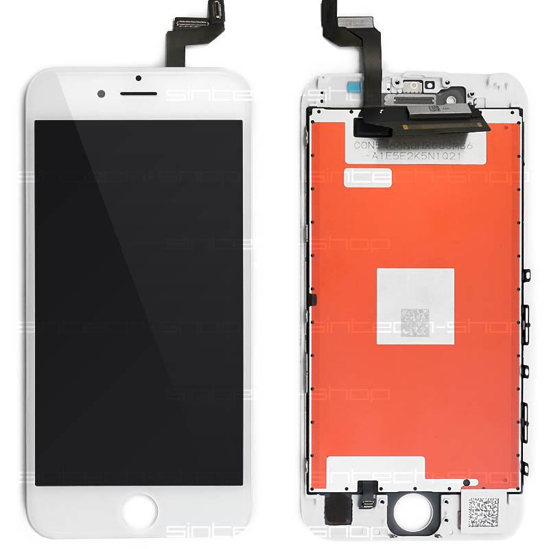"iPhone 6S (4,7"") SINTECH© Premium LCD displej s rámem a dotykem, bílý"
