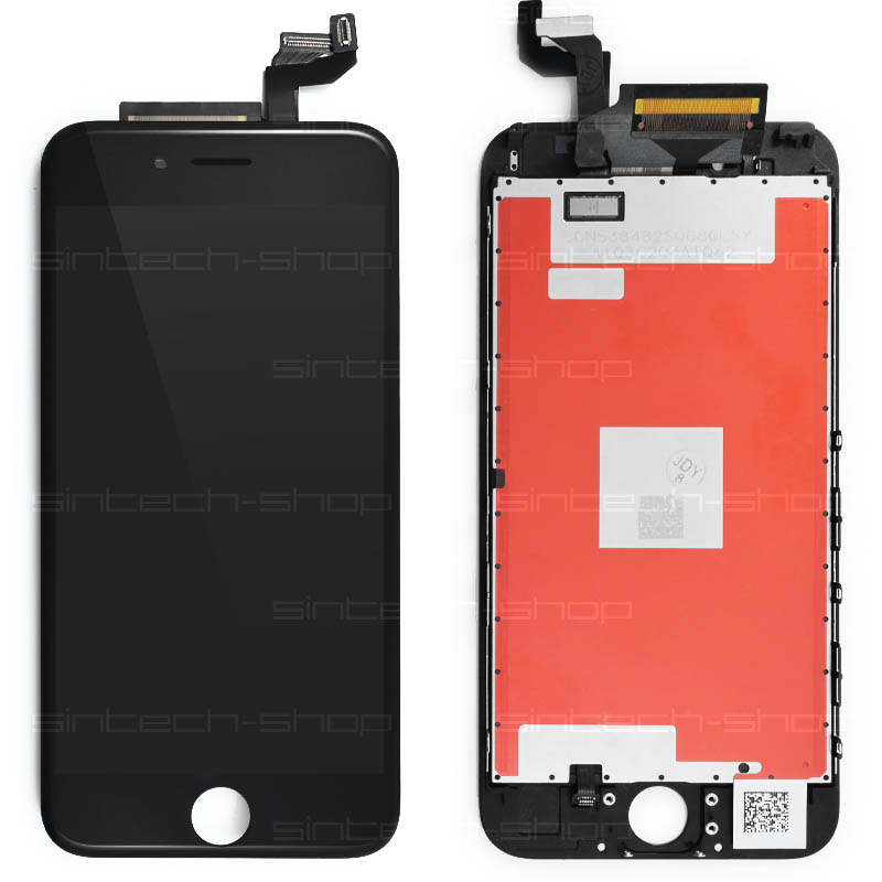 """iPhone 6S (4,7"""") SINTECH© Premium LCD displej s rámem a dotykem, černý"""